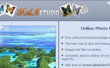 Editor di Immagini Online