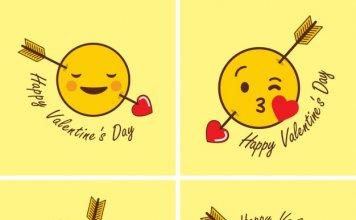 Emoticon per San Valentino