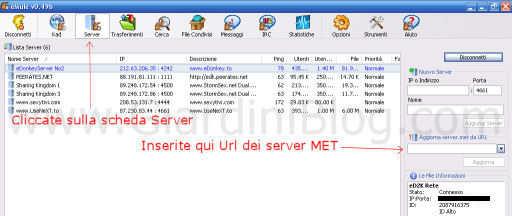 server emule gratuiti