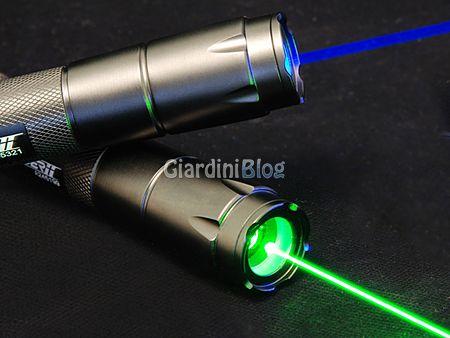 costruire laser