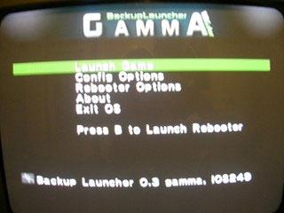 Backup Launcher 0.3 Gamma