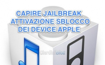 iOS : Capire JailBreak, Attivazione, Sblocco