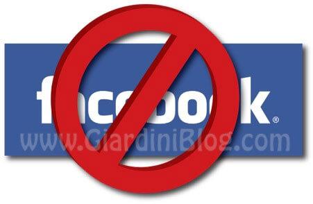 Come fare per Eliminare il proprio account Facebook