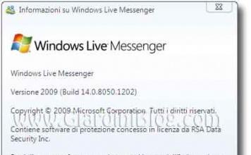 Windows Live Messenger 2009 RC, ad un passo dalla versione finale