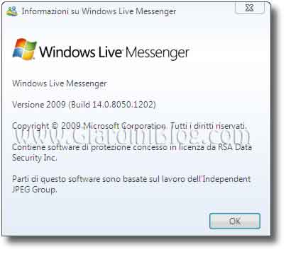 Windows Messenger Live 2009