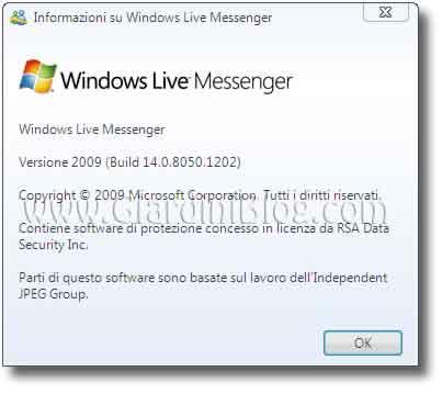 Windows Messenger Live 2009