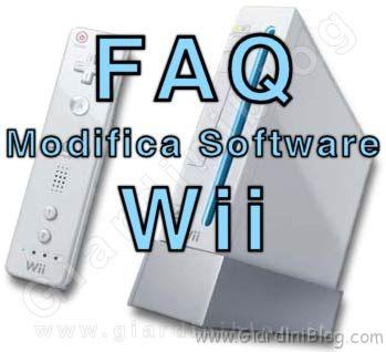 Faq Domande frequenti Wii