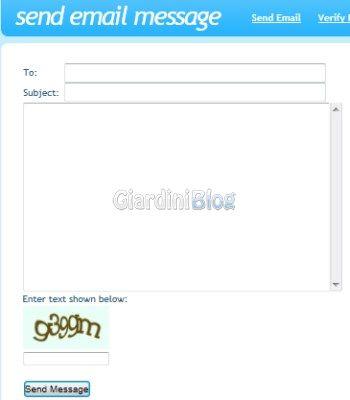 spedire email anonime con il servizio send-mail