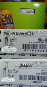 identificare xbox jasper