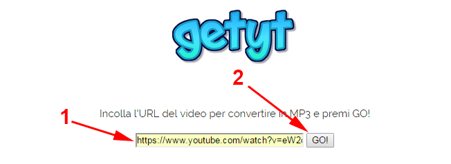 scaricare mp3 da youtube