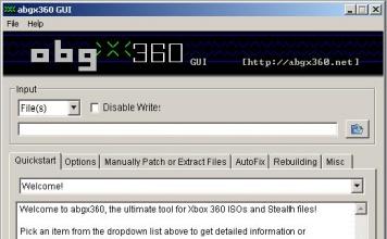 Tutorial verifica stealth con abgx360 per XBOX360