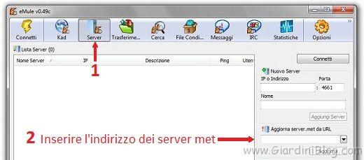 elenco server emule aggiornati