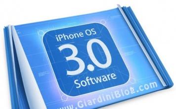 Scarica il nuovo firmware 3.0 per iPhone