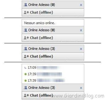 Esci dalla Chat di Facebook e continua a vedere gli amici online
