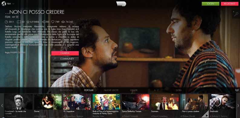 film streaming gratis vvvvid
