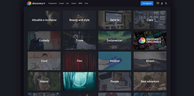 film streaming gratis discoveryplus