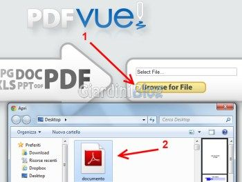 modifica file pdf