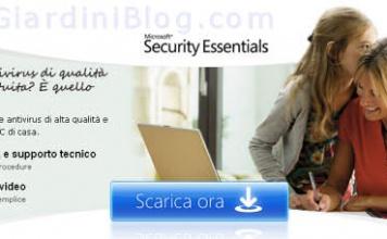Microsoft Security Essentials - Ottimo Antivirus Gratuito