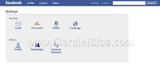 facebook lite impostazioni
