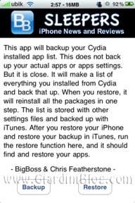 iphone AptBackup