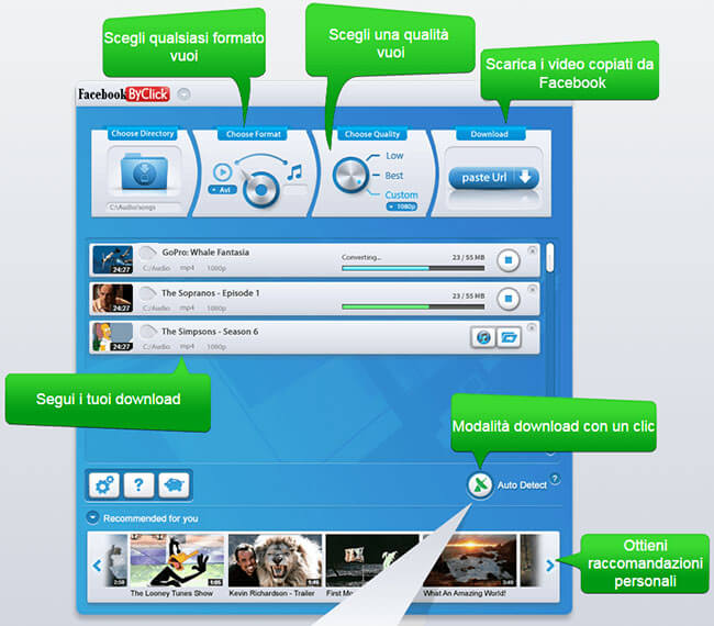 App per scaricare video da facebook gratis