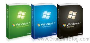 versioni windows 7