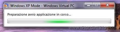windows xp mode avvio
