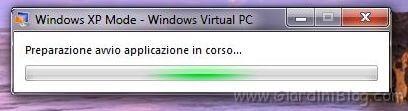 windows xp mode avvio