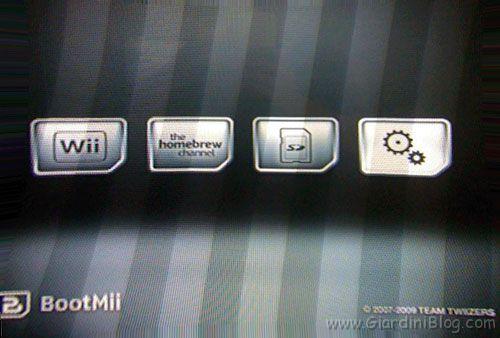 BootMii Menu Wii