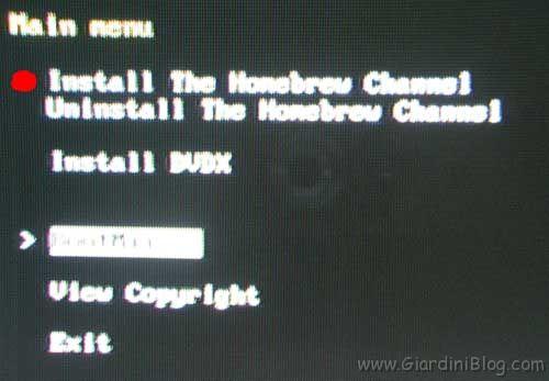 HomeBrew Channel Installation
