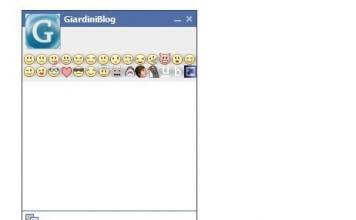 Avere la lista delle emoticon nella chat di Facebook con Facebook ChatBar +