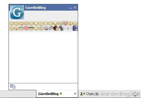 emoticon nella chat di facebook