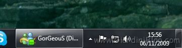 windows live messenger msn taskbar