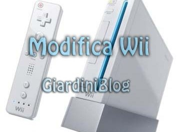 nintendo wii modifica