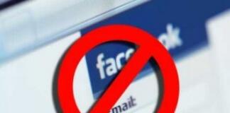 eliminato amici contatti facebook