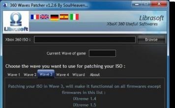 Xbox 360 : patchare le ISO per qualsiasi firmware con 360 Waves Patcher [AGGIORNATO]