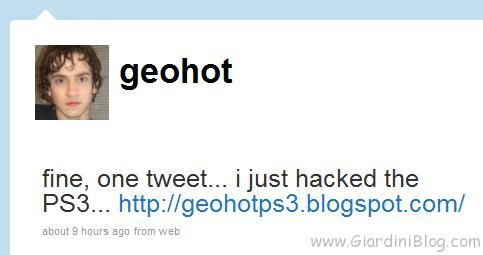 geohot hacked ps3