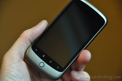 Nexus One caratteristiche info video