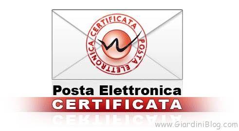 posta elettronica certificata PEC