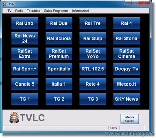 streaming tv gratis italia