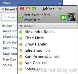 Facebook Chat Jabber