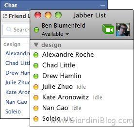 Facebook Chat Jabber