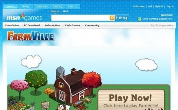 FarmVille, il famoso gioco di Facebook, arriva su Microsoft Live Messenger e MSN Games!
