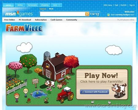 farmville msn facebook