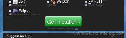 ninite get installer
