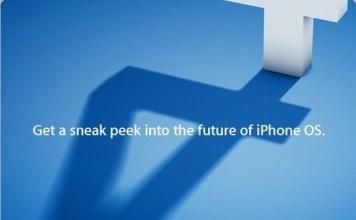 iPhone novità del nuovo firmware 4.0 [Live dalle 19]