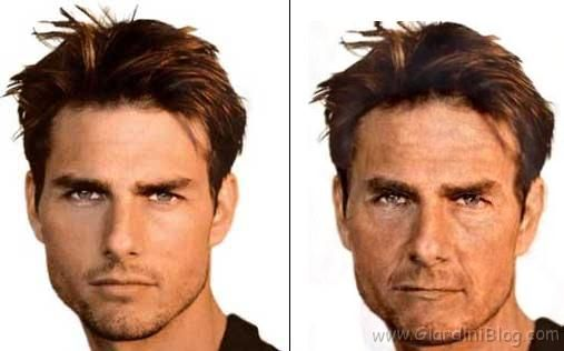 Tom Cruise Giovane e Vecchio!