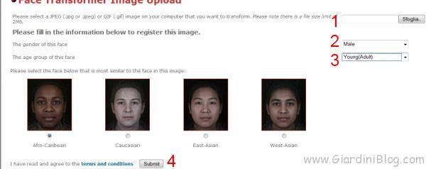 Come invecchiare un viso