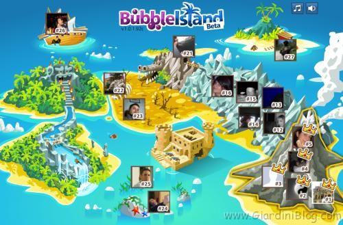 bubble island facebook