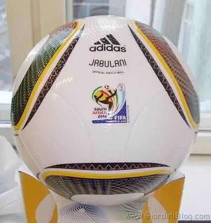 calendario mondiali 2010 calcio jabulani